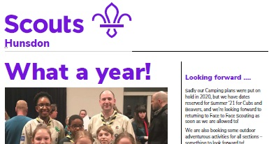 Scouts Newsletter